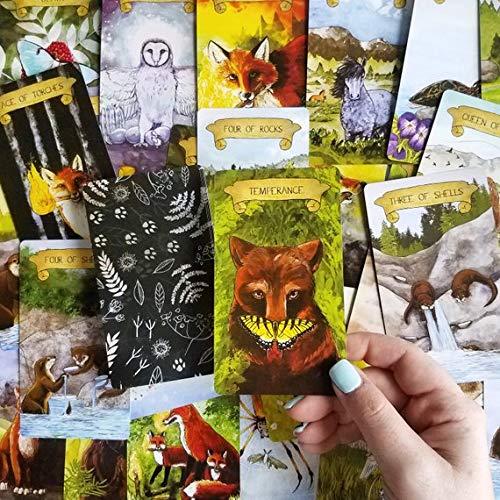 Tarot Fauna 80 Card Semi Tradional Deck by Tarot Fauna (Image #6)