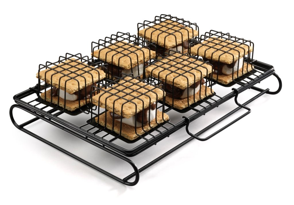 Six-S'more Maker For BBQ or Oven