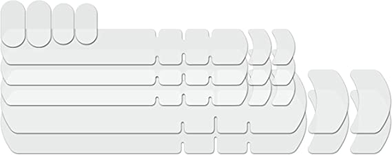 Lizard Skins Frame Kit Adhésif Moto Protection Matte Effacer