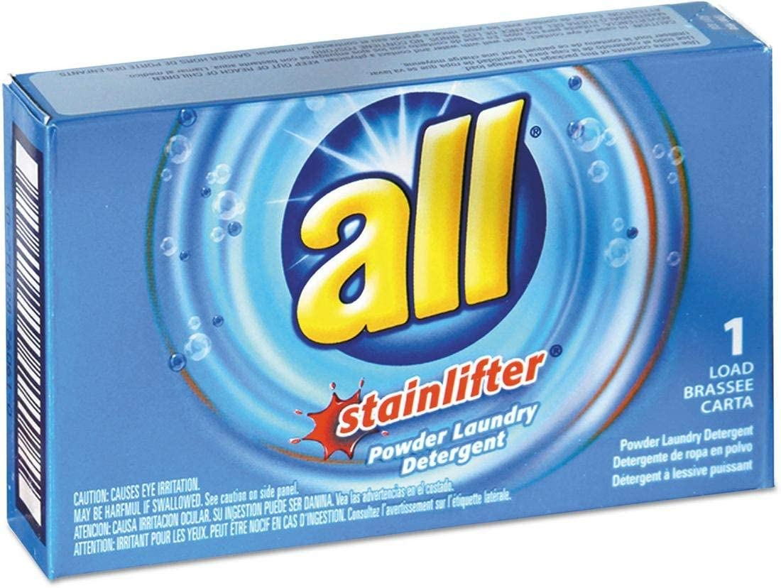 All VEN 2979267 Ultra He Coin-Vending Powder Laundry Detergent, 1 Load, 100/carton