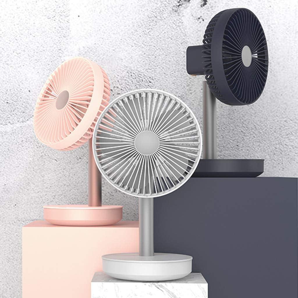 Features Oscillating Movement Tilt-Back Fan Head White Black Elegance /& Performance Adjustable Pedestal Fan Togethor Battery Operated Clip on Mini Desk Fan