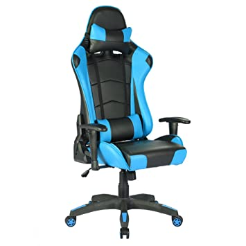 Iwmh Siege De Gaming Fauteuil Gamer Pro En Similicuir Racing Chaise