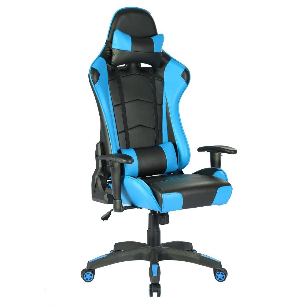 Racing Hochwertiger Chefsessel Burostuhl Gaming Stuhl Ergonomischer
