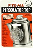 """Cherry Queen Tops Replacement Percolator Top Glass Fitz-All 13/16""""- 1-1/2"""" #135 New"""