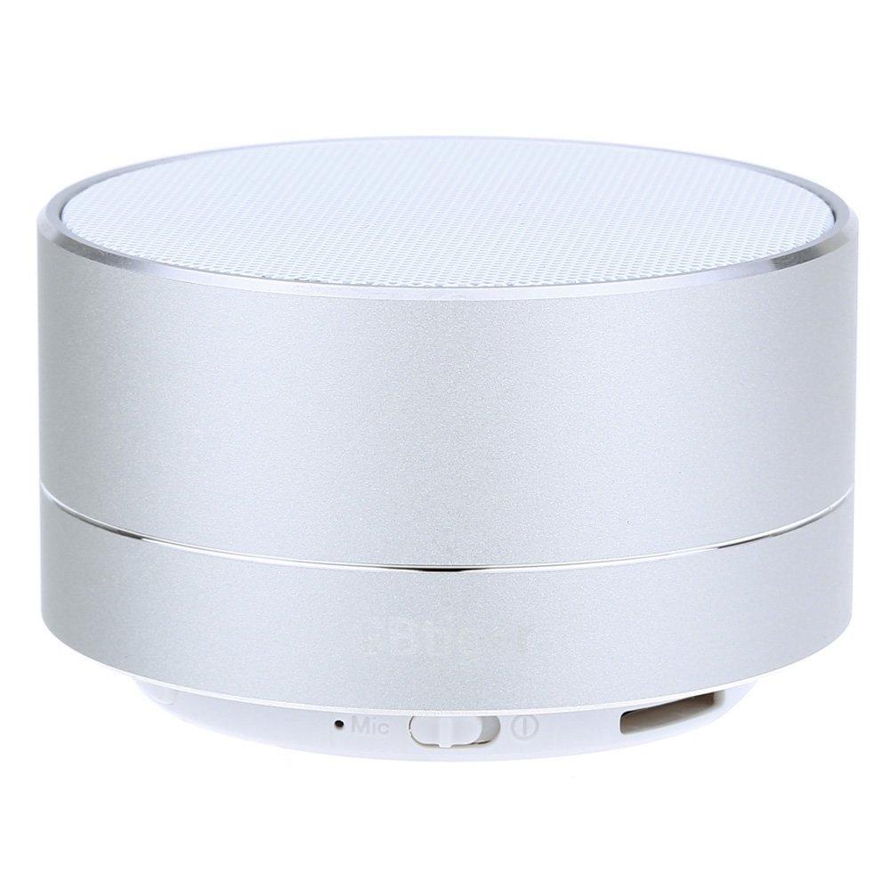 Creative Bluetooth Speaker Computer Audio Mini Card Speaker Metal Wireless Subwoofer a10 Bluetooth Speaker Silver White