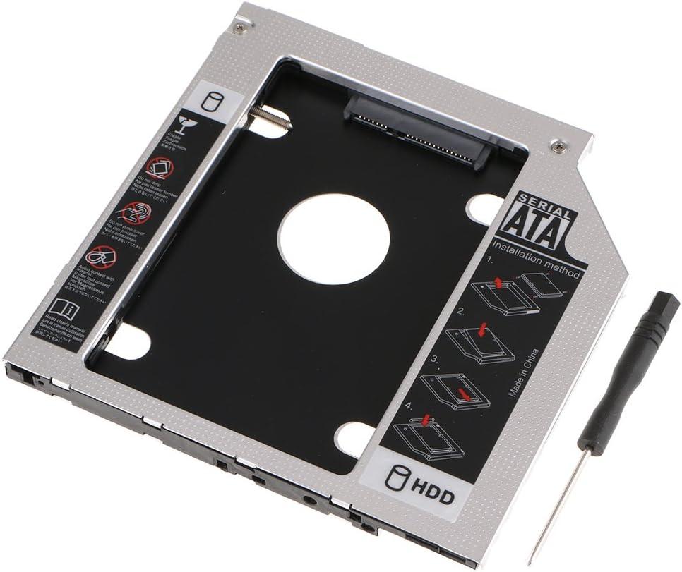 Hard Drive Bay Caddy 9.0mm Sata to Sata Optical Tray Bracket for MacBook