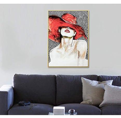 eac4e3b2eb7e LPC Sexy Caperucita Roja Tienda De Ropa For Mujer Pintura Decorativa ...