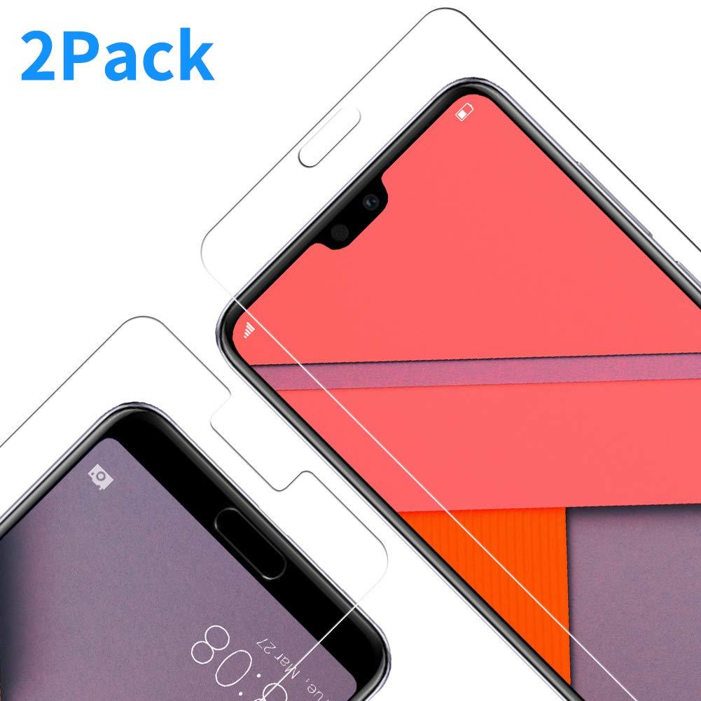 Vkaiy Huawei P10 Lite Pellicola Protettiva Vetro Temperato [Durezza 9H] [Alta Trasparente], Anti-Impronte Digitali - Anti-Graffi - Nessuna Bolla, Facile da Installare - 2 Pezzi