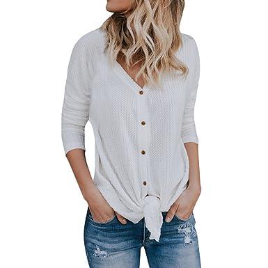 Cravate Pour amazon Manche Tricot Chemise Mode Luckycat Impression Lâche 2018 Été Stripe Top À Femmes Manches Longues K1J53uFcTl