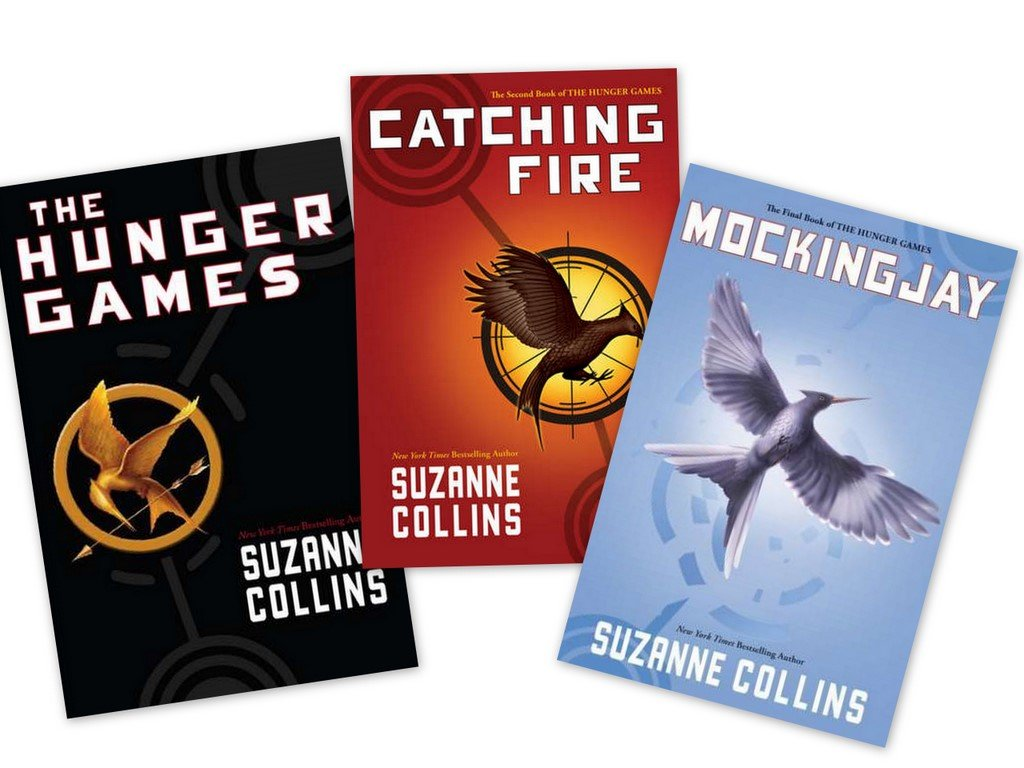 Image result for hunger games trilogy