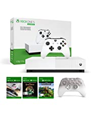 Xbox One S All-Digital Edition + Xbox Phantom White Controller