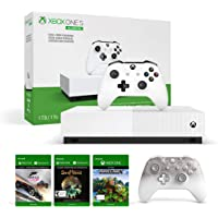 Xbox One S All Digital Console + Phantom White Xbox One Controller