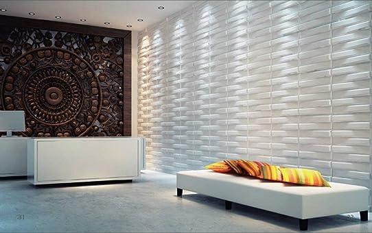 Panneaux Muraux 3D Décoration D'Intérieur Moderne Idéal Pour Les