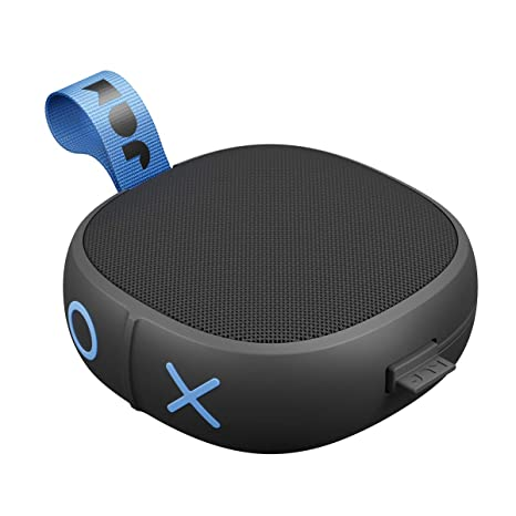 Hang Up, Shower Bluetooth Speaker 8 Hour Playtime, Waterproof, Dust-Proof,  Drop-Proof IP67 Rating Built-in Speakerphone, Aux-In Port, Integrated USB
