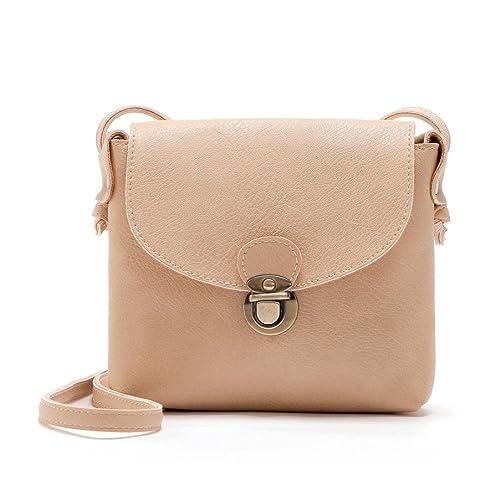 a120e2c63d6 Women's Cross Body Bags,Lady Leather Purse Satchel Handbag Shoulder Bag  Tote by-NEWONESUN