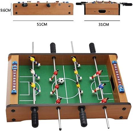 Mesa de futbolín Mini futbolín de mesa de juegos portátil de mano ...