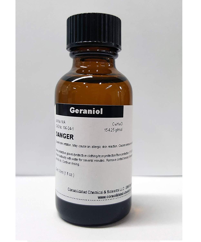 CCS LLC Geraniol High Purity Aroma Compound 30ml (1fl Oz)