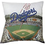 The Northwest Company MLB Los Angeles Dodgers Decorative Photo Pillow (18 x 18)