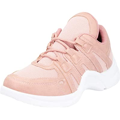 Cambridge Select Women's 90s Ugly Dad Lace Up Chunky Fashion Sneaker | Shoes