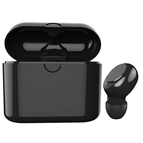 a29d3450251 Kelodo Bluetooth Earbud, Mini Invisible Wireless Headphone V5.0 with 6  Hours Playtime,