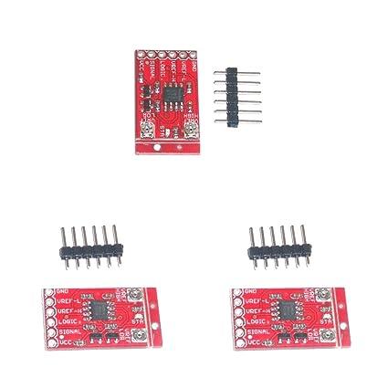 MagiDeal 3pcs LMV358 Ventana Comparador Señal Amplificador Operacional Módulo con Pin