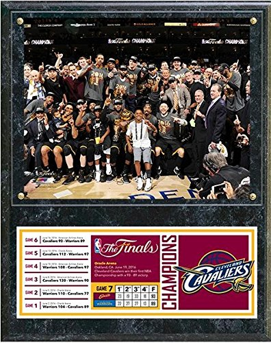 Cleveland Cavaliers 2016 NBA Champions Celebration Down Plaque Wall Sign 15 x 12in by NBA