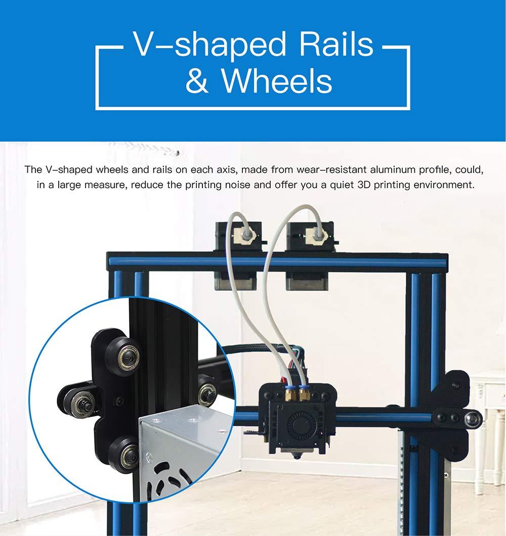 Geeetech 3D Printer A10M Mix-Color Prusa I3 220×220×260 mm³ Print on