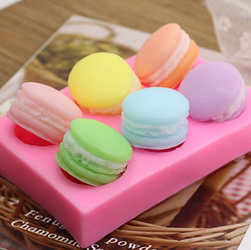 Conversation Puffy Heart Tarts 8 Cavity Silicone Mold 5399 Food-Soap-Candle-Resin-Flexible