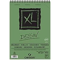 Bloco Espiralado Canson XL Dessin 160g/m² A4 21 x 29,7 cm com 50 Folhas – 400039088