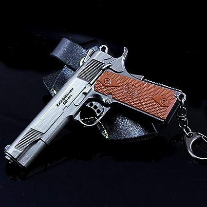Amazon.com: P1911 Pistol Modelo 1/6 Escala Llavero Coche ...