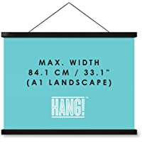 Poster Hanger, Designed for Luckies Scratch Maps, Magnetic Poster Frame Alternative, Hang!
