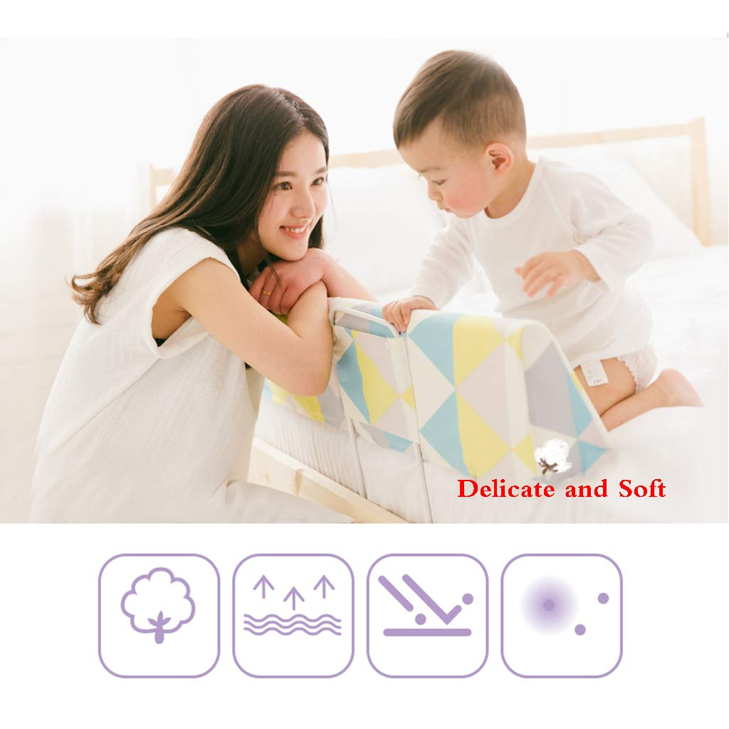 Kids Bed Safety Rails Portable and Steady Bed Guard Baby Safety Bed Rail Single Toddler Bed Rail by SONGTING Guardrail (Image #6)