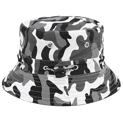 e4edaf548 OUO Sun Hat for Women Fishing Hunting Travel Outdoor Bucket Hat Unisex  Beach Sun Hat Summer Sun Protective Packable Sunhat Women Headwear Flat Sun  ...