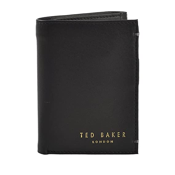 fa4a9559a3f33f Ted Baker Jonnys Leather Card Wallet Black One Size  Amazon.co.uk  Clothing