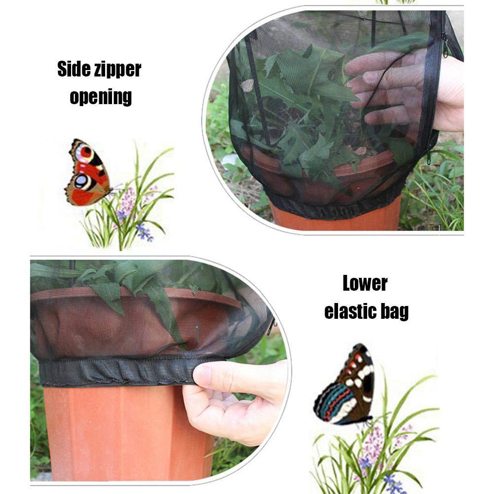 Xploit Insect Cage Butterfly Feeding Net Giardino Insetto Ornamentale Gabbia Rete Gabbia del Parasole