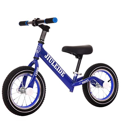 1-1 Bicicletas sin Pedales para niños, Neumáticos inflables Sin Pedal Ajustable Ligero Primera