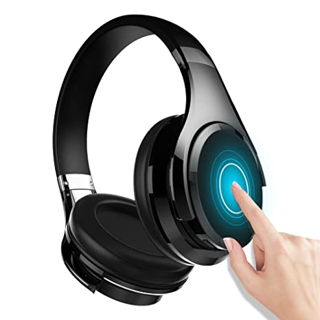 55c140c615295c Zealot B21 Deep Bass Portable Touch Control Wireless Bluetooth Over-Ear  Headphones, Wired Headset
