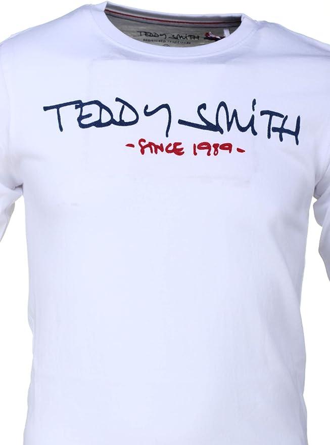 Chemise gar/çon C Hulk ML 60706208d 202 Blanc Teddy Smith