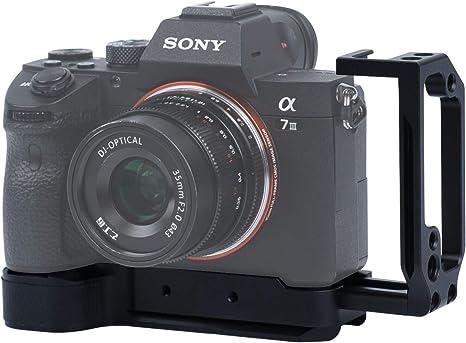 Soporte de Cámara L Placa en Forma de L para Sony A7 III A7 R III