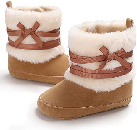 Female Baby Winter Cute Snow Boots