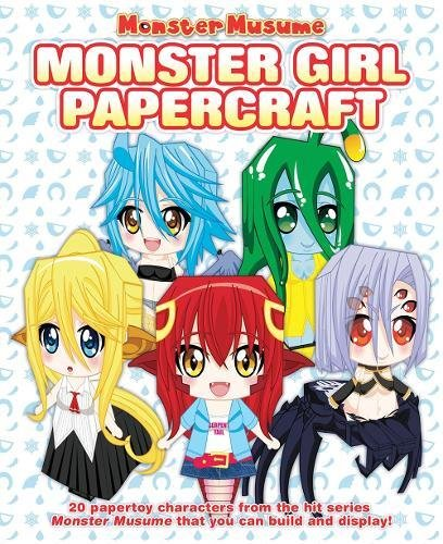 monster musume monster girl papercrafts malaysia online bookstore