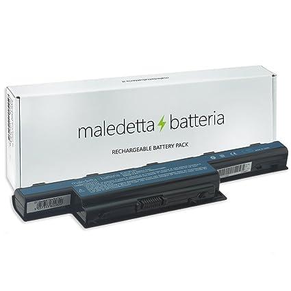 Batería maledettabatteria 4400 mAh 10,8 V para Portátil Acer Aspire 4250, 4250-