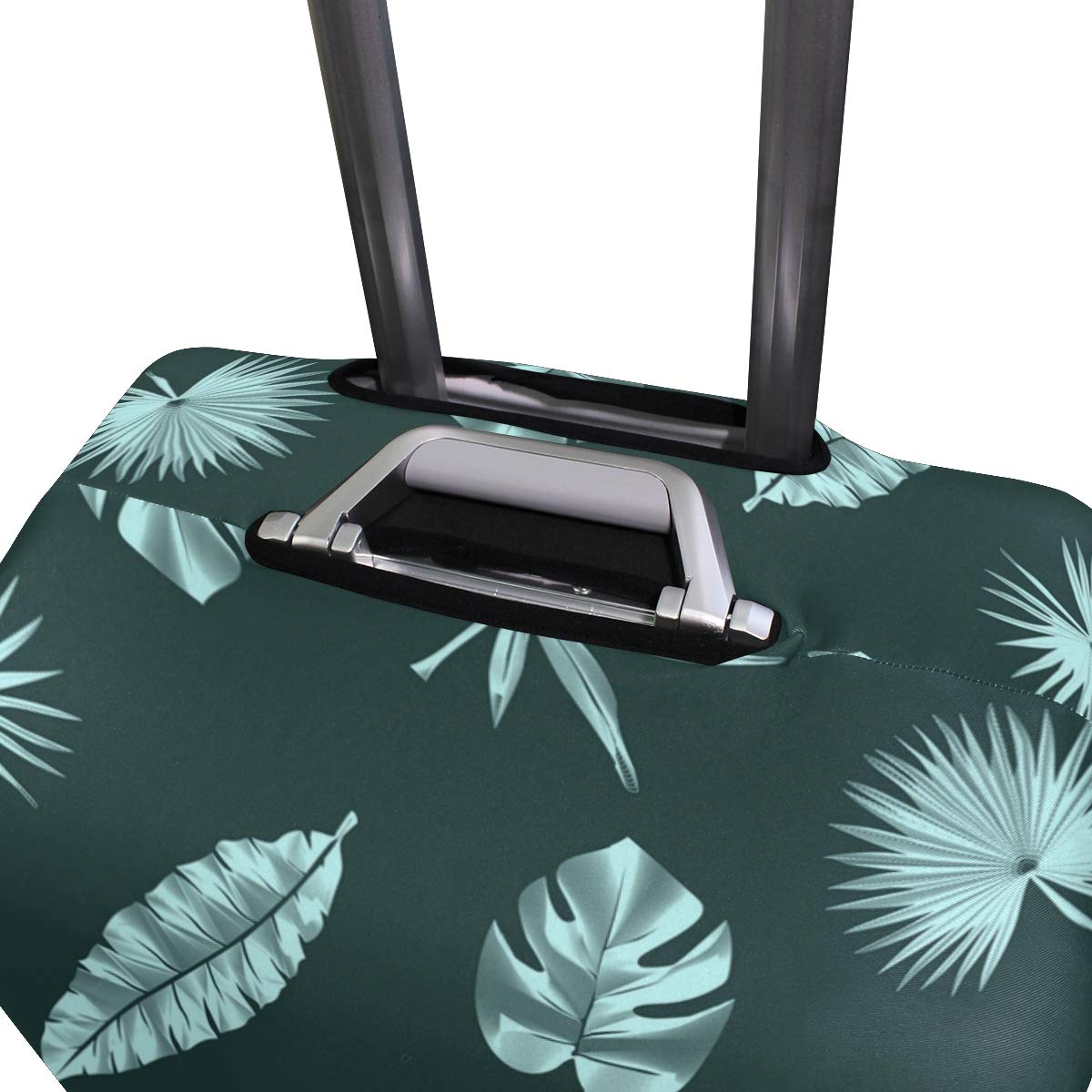 Banana Leaf Bench Traveler Lightweight Rotating Luggage Protector Case Can Carry With You Can Expand Travel Bag Trolley Rolling Luggage Protector Case
