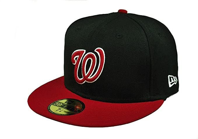 4b812c31c Image Unavailable. Image not available for. Color: New Era 59fifty Fitted Hat  Washington Nationals ...