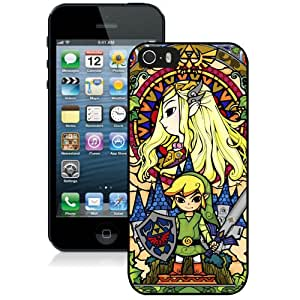 High Quality iPhone 5 5S Case ,Legend Of Zelda iPhone 5 5S Cover Unique And Fashion Designed Phone Case