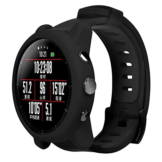 Amazon.com: Silicone Watch Protective Case for Xiaomi Huami ...