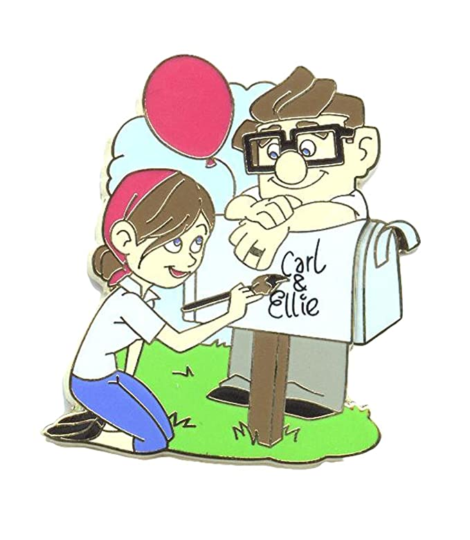Authentic Disney Up Carl And Ellie Mailbox Love Letters Pin WDW