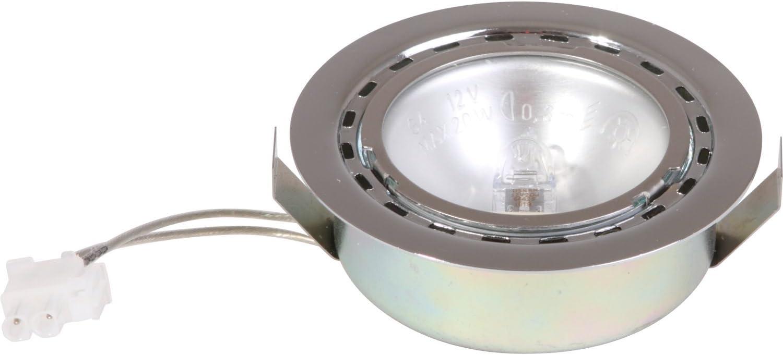 Siemens 0175069 - Bombilla halógena G4 para campana extractora (20 W, 12 V, con cable, compatible con diversos dispositivos Bosch y Siemens)