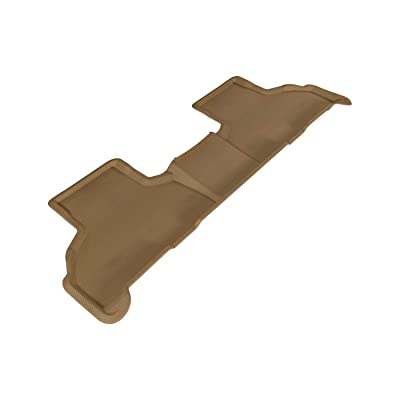 3D MAXpider Kagu L1BM05521502 Custom Fit All-Weather Second Row for Select BMW X5 (F15)/ X6 (F16) Models Rubber (Tan): Automotive