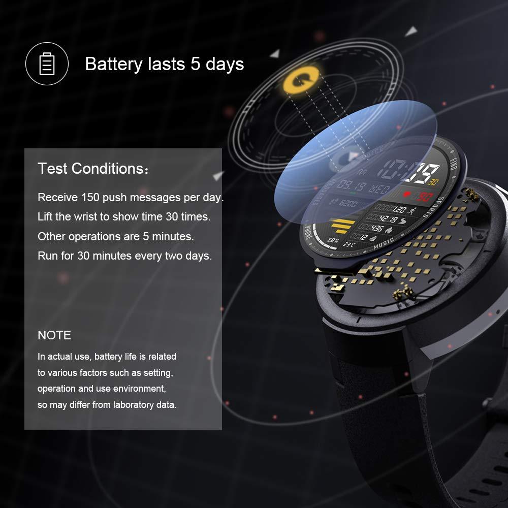 Amazfit Verge Smartwatch con Alexa integrada,GPS Integrado,Rastreador de Actividad,RAM 512M,ROM 4GB,1.30